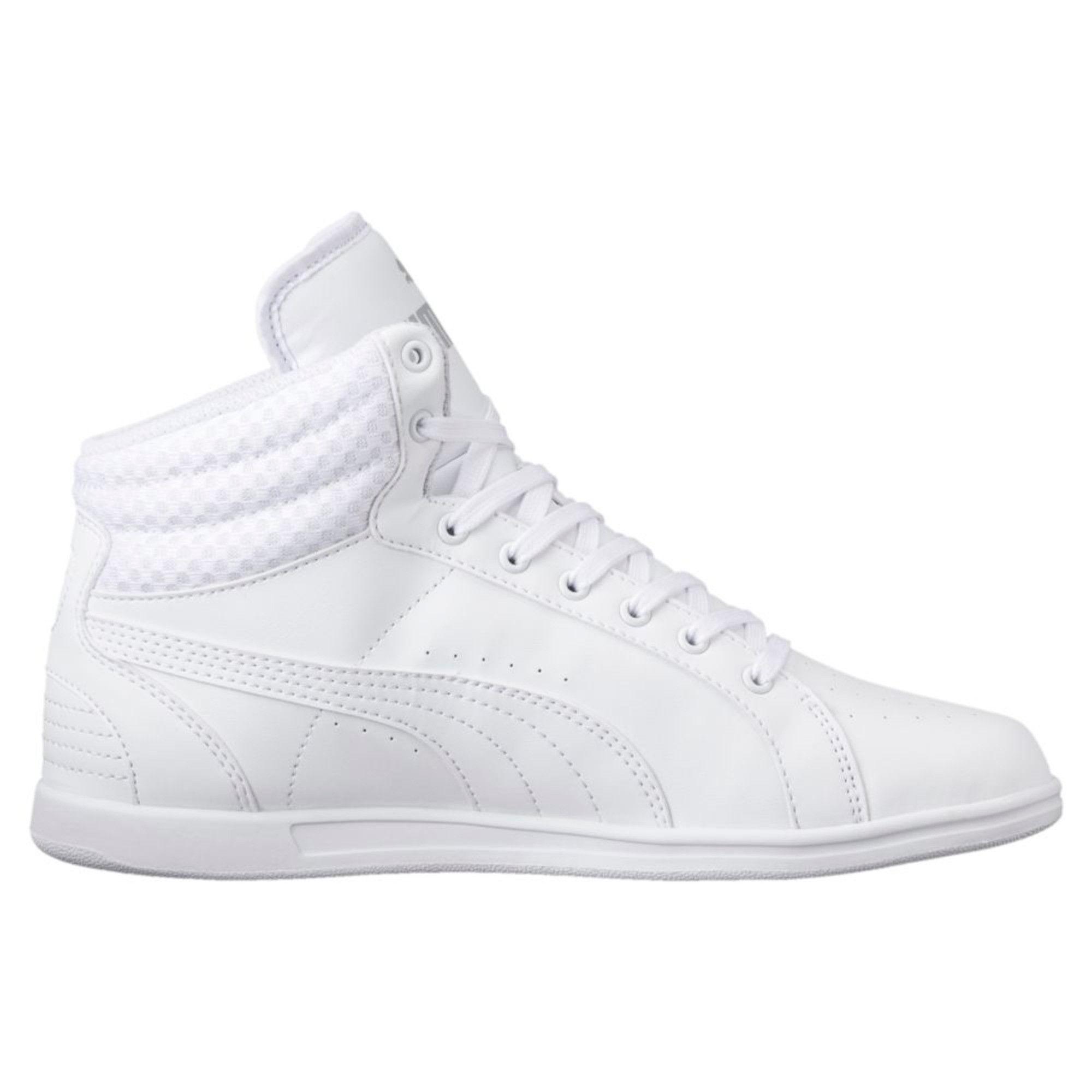 Puma Ikaz Mid V2 Women's White Sneakers