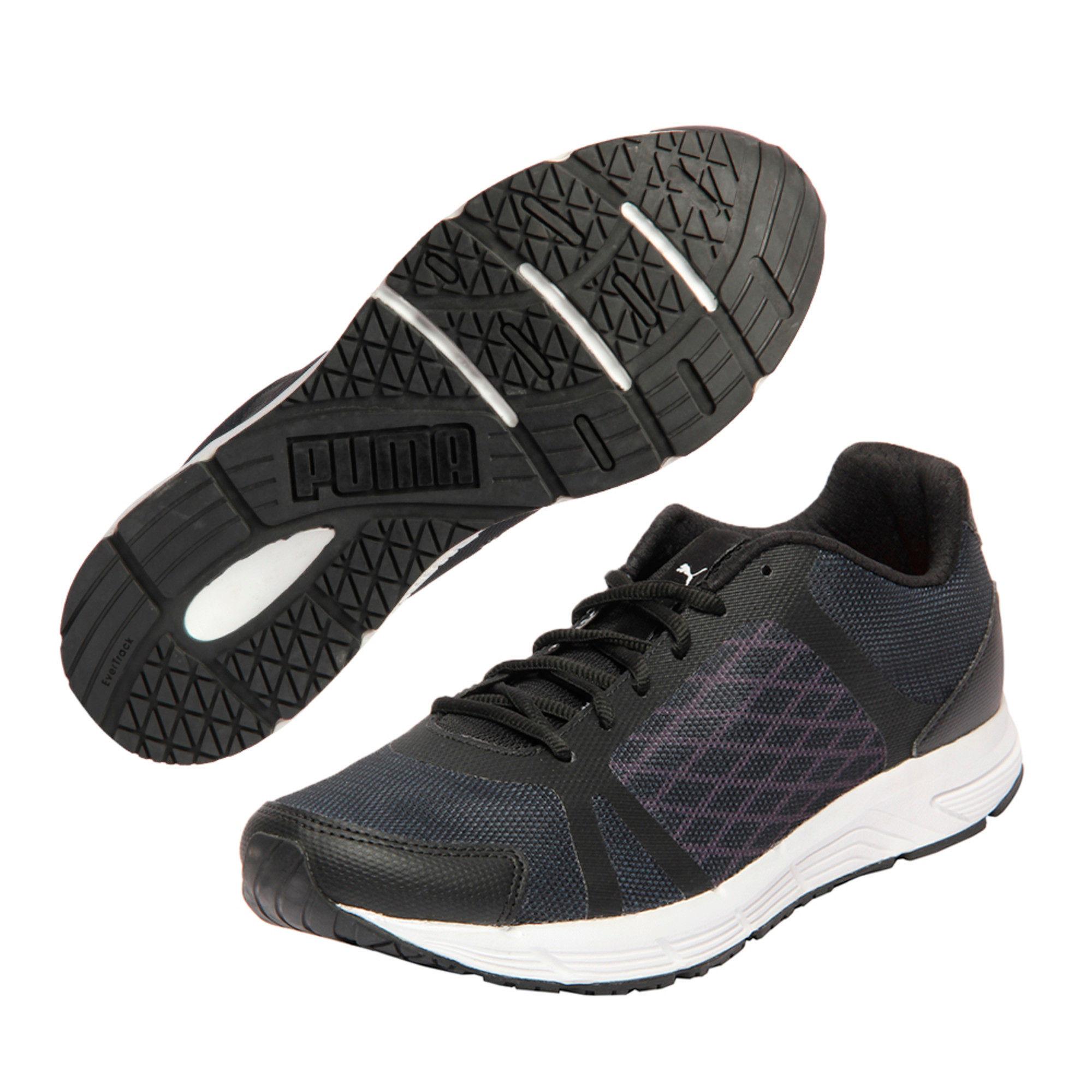 Puma Sigma IDP Unisex Black Sneakers
