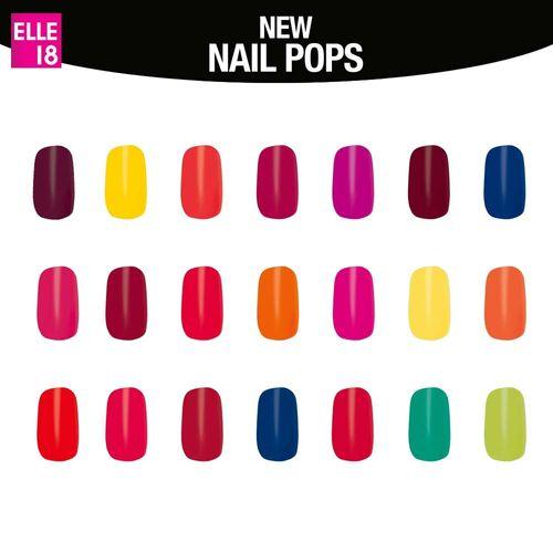 Elle 18 Nail Pops Nail Polish Buy Elle 18 Nail Pops Nail Polish Online At Best Price In India Nykaa