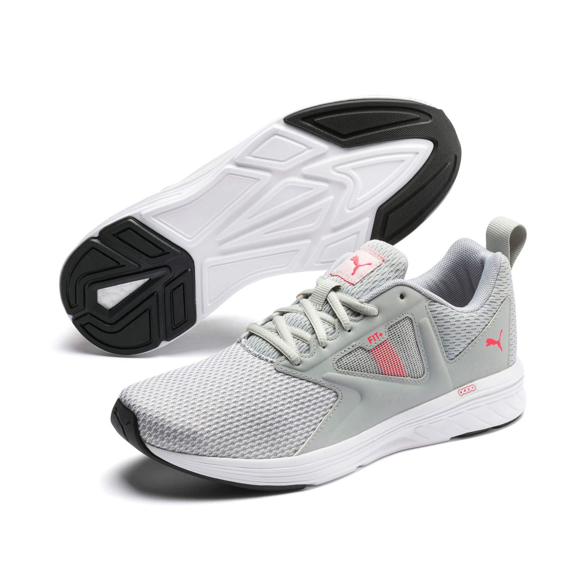 Puma NRGY Asteroid Running Shoes - Gray (3)