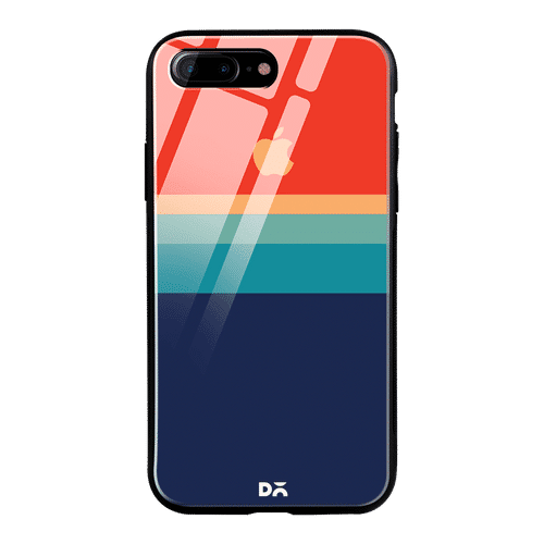Dailyobjects Blue Red Glass Case Cover For Iphone 7 Plus Buy Dailyobjects Blue Red Glass Case Cover For Iphone 7 Plus Online At Best Price In India Nykaa