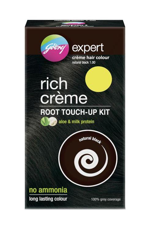 Godrej Expert Rich Creme Root Touch Up Kit Hair Colour Shade 1 Natural Black Buy Godrej Expert Rich Creme Root Touch Up Kit Hair Colour Shade 1 Natural Black Online