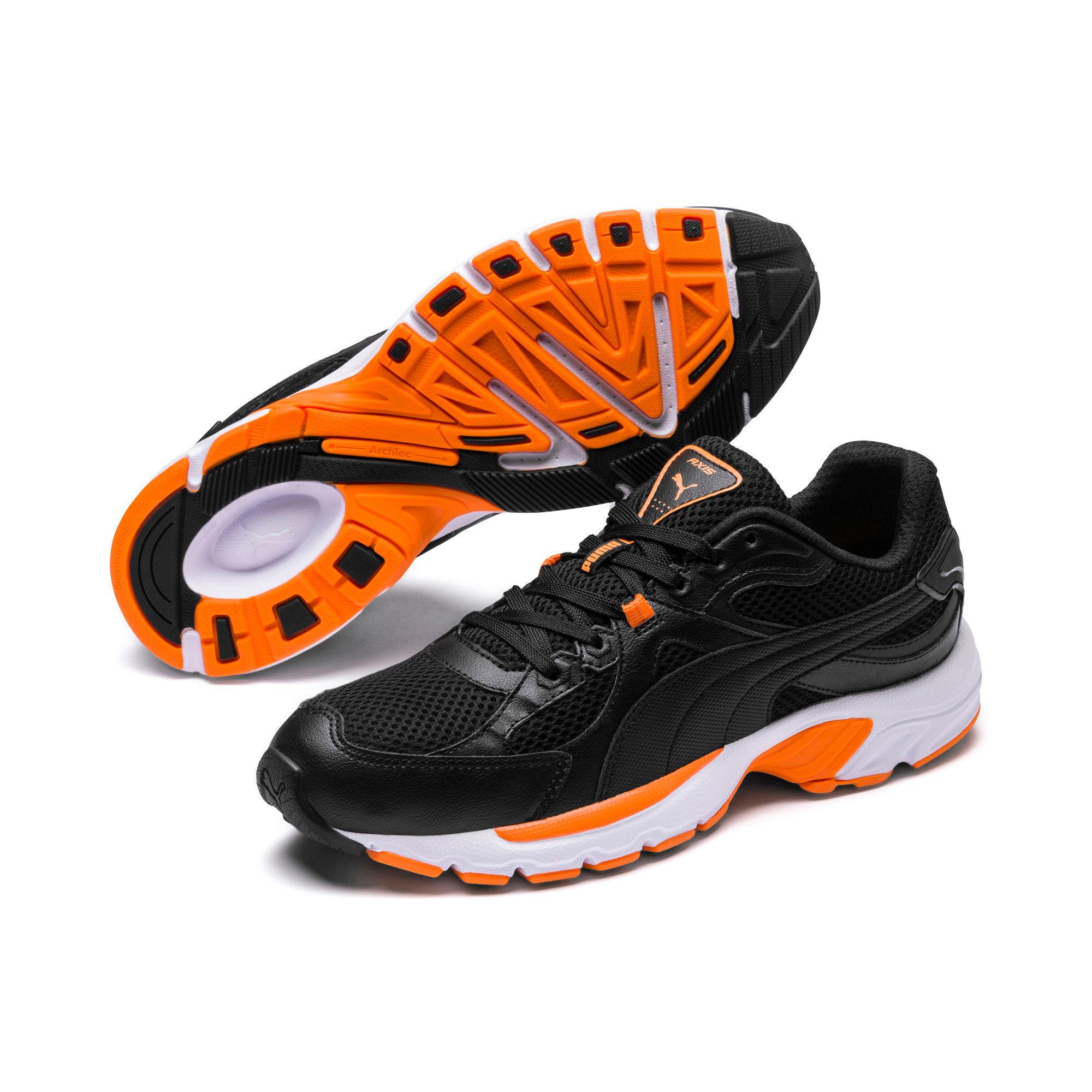aluminio virtual enero  Puma Axis Plus 90S Black- Black Running Shoe: Buy Puma Axis Plus 90S Black-  Black Running Shoe Online at Best Price in India | Nykaa