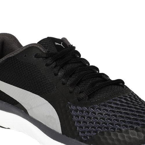 acre bádminton defensa  Puma Unisex Flex T1 Reveal IDP Sports Shoes - Black: Buy Puma Unisex Flex  T1 Reveal IDP Sports Shoes - Black Online at Best Price in India | Nykaa