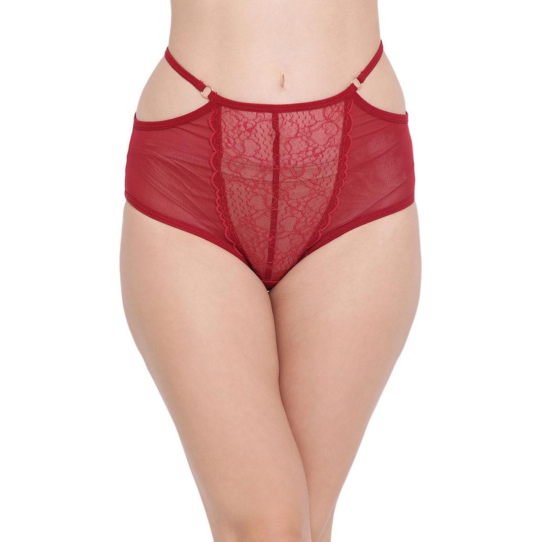 Side Cut Panties Sheer