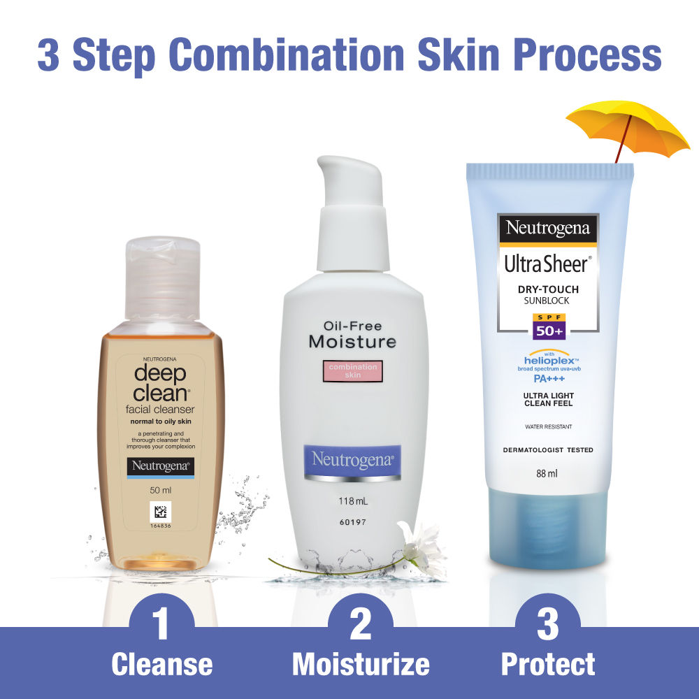 combination skin care products