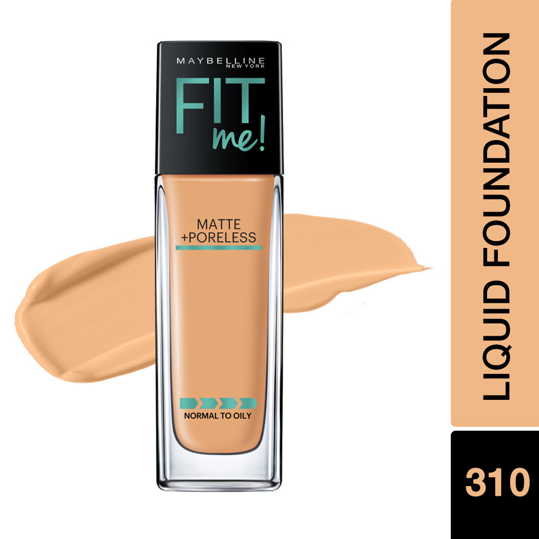 Maybelline New York Fit Me Matte Poreless Liquid Foundation With Pump Buy Maybelline New York Fit Me Matte Poreless Liquid Foundation With Pump Online At Best Price In India Nykaa