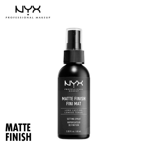 NYX Professional Makeup Long Lasting Makeup Setting Spray Matte Finish: Buy  NYX Professional Makeup Long Lasting Makeup Setting Spray Matte Finish  Online at Best Price in India | Nykaa