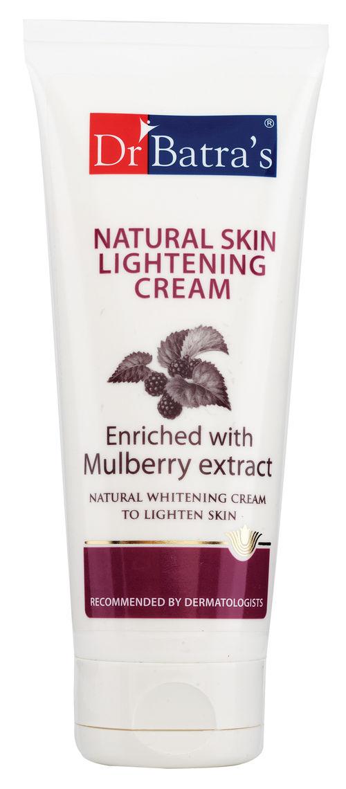 natural skin lightening cream