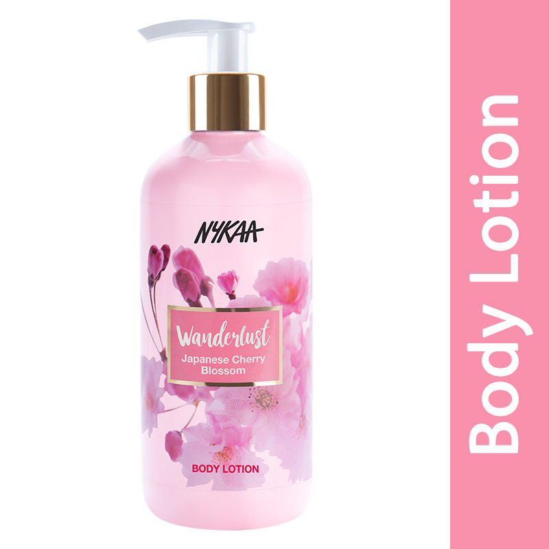 Nykaa Wanderlust Body Lotion - Japanese Cherry Blossom