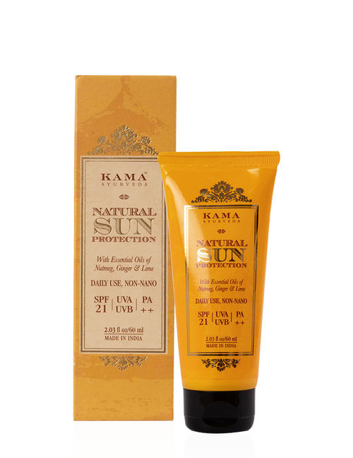 Kama Ayurveda Natural Sun Protection SPF - 21/PA++: Buy Kama Ayurveda Natural Sun Protection SPF - 21/PA++ Online at Best Price in India | Nykaa