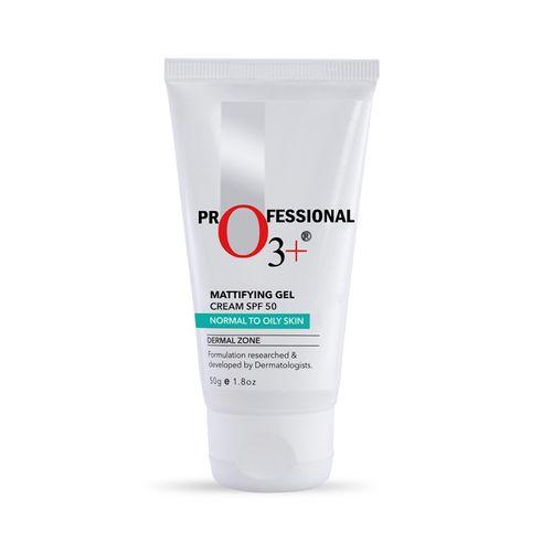 O3+ Mattifying Gel Cream Spf 50 -Dermal Zone: Buy O3+ Mattifying Gel Cream Spf 50 -Dermal Zone Online at Best Price in India | Nykaa