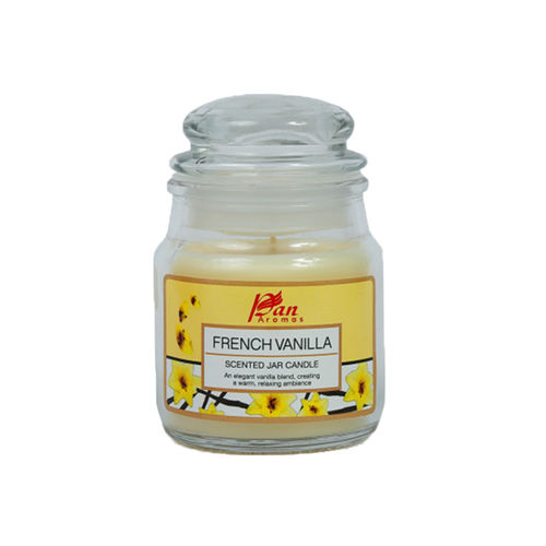 Pan Aromas French Vanilla Scented Jar Candle Buy Pan Aromas French Vanilla Scented Jar Candle Online At Best Price In India Nykaa