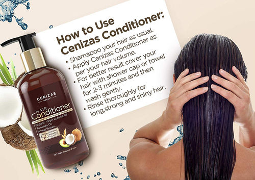 Cenizas Beauty Coconut Avocado Oil Hair Conditioner Buy Cenizas Beauty Coconut Avocado Oil Hair Conditioner Online At Best Price In India Nykaa