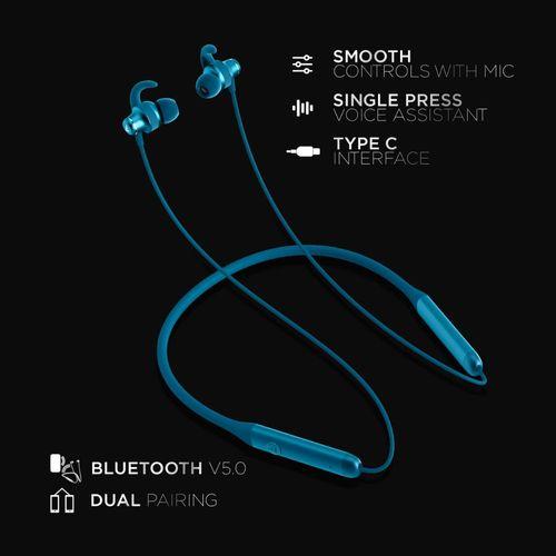 boAt Rockerz 335 N Wireless Neckband with ASAP Charge, Up to 30H Playback  (Ocean Blue): Buy boAt Rockerz 335 N Wireless Neckband with ASAP Charge, Up  to 30H Playback (Ocean Blue) Online