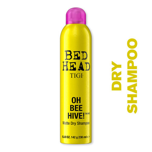 Tigi Bed Head Oh Bee Hive Matte Dry Shampoo Buy Tigi Bed Head Oh Bee Hive Matte Dry Shampoo Online At Best Price In India Nykaa