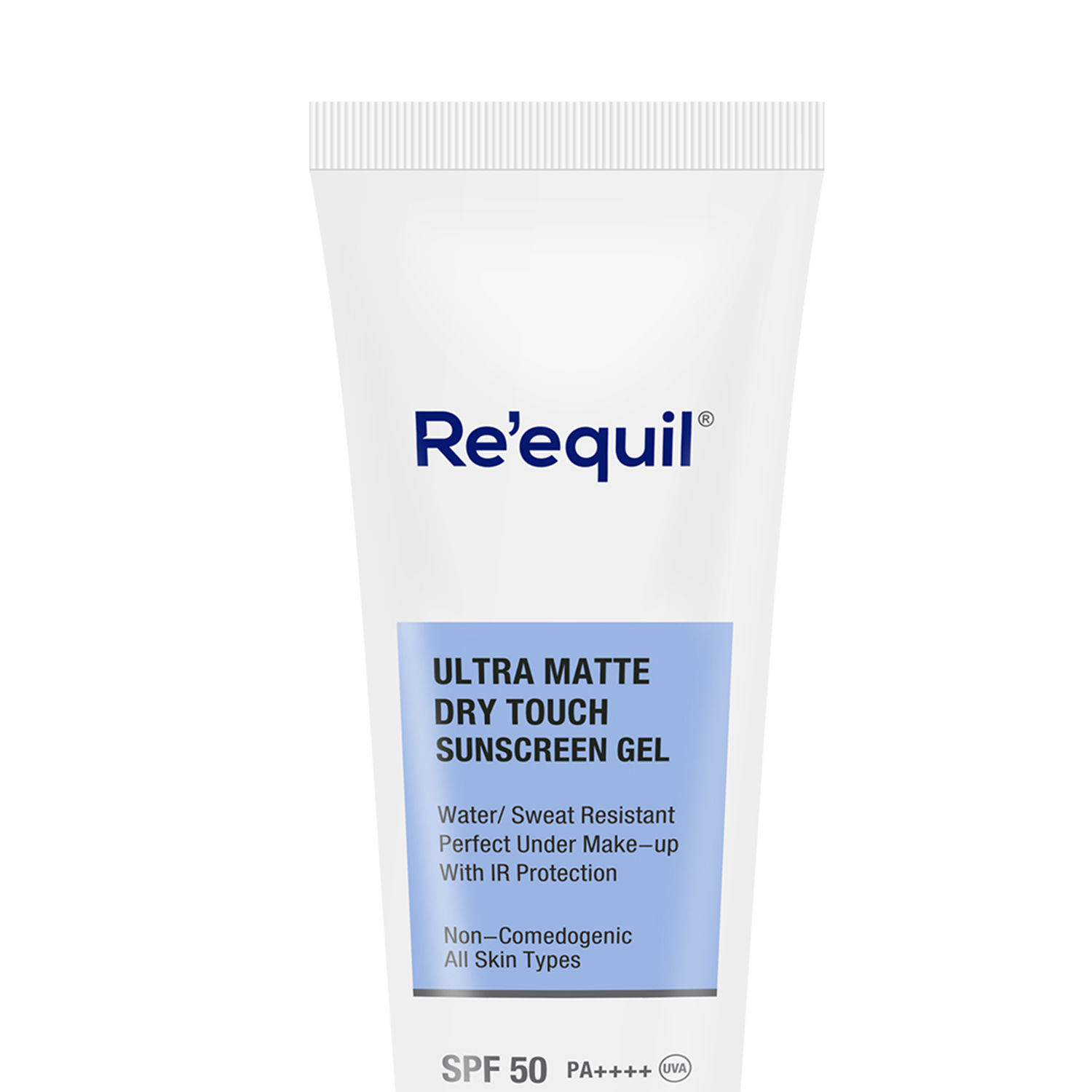 Reequil Ultra Matte Dry Touch Sunscreen Gel SPF 50 PA ++++ UVA: Buy Reequil  Ultra Matte Dry Touch Sunscreen Gel SPF 50 PA ++++ UVA Online at Best Price  in India | Nykaa