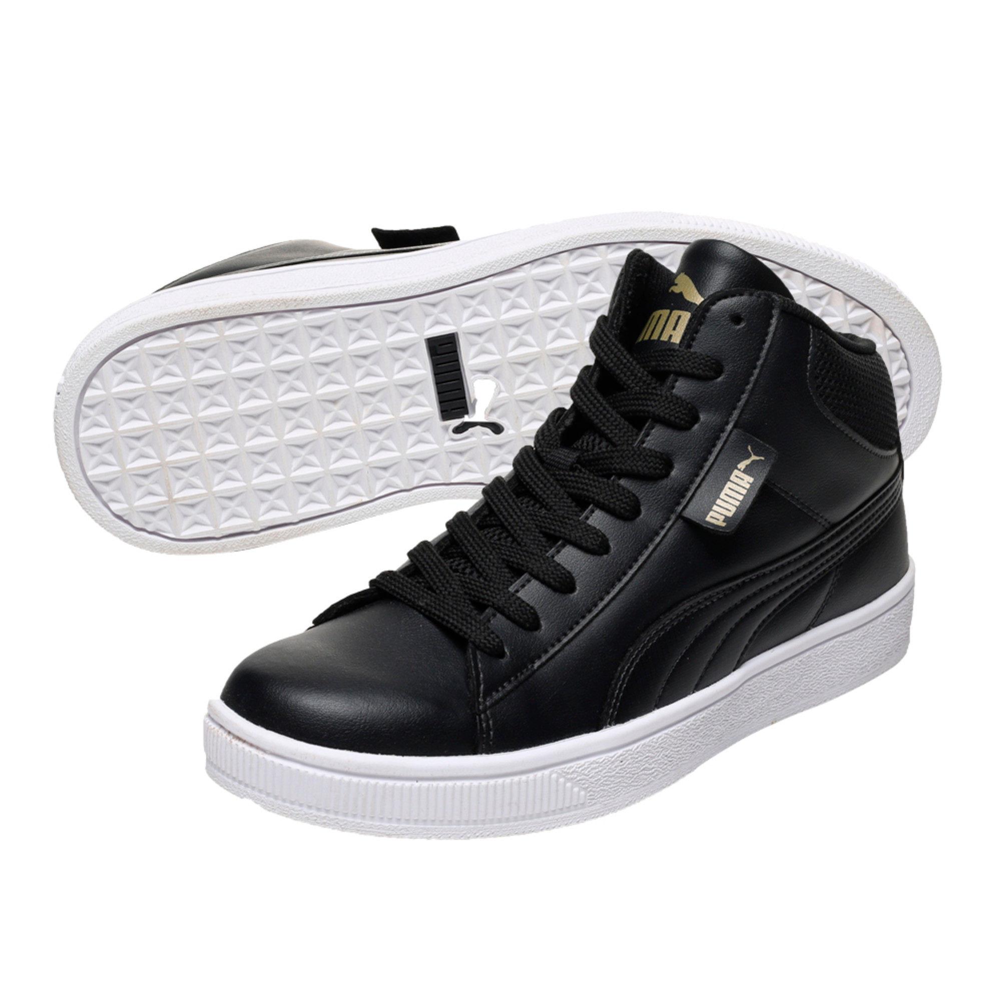 Puma 1948 Vulc Unisex Black Sneakers