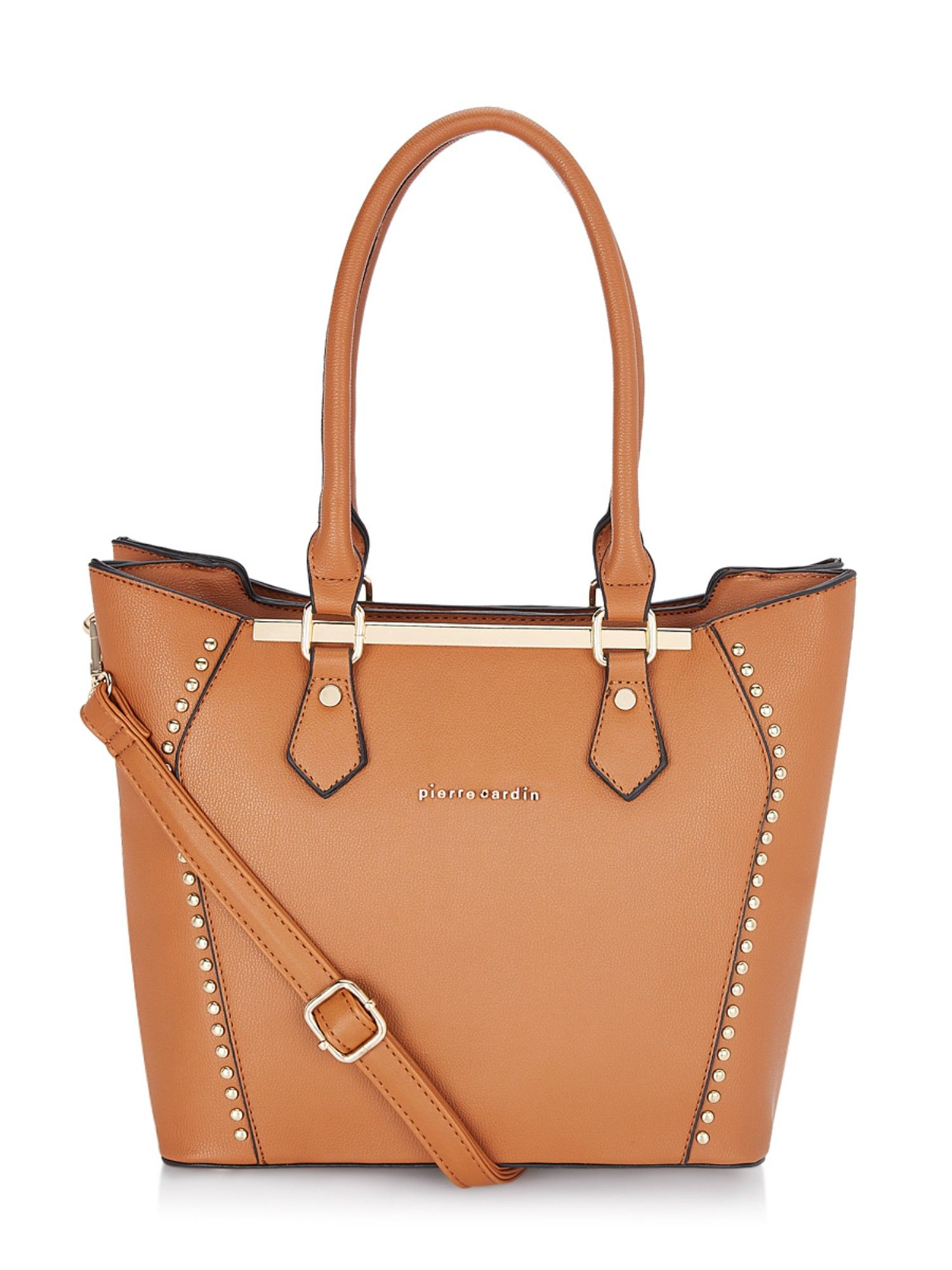 Pierre Cardin Bags Tan Solid Tote Bag Buy Pierre Cardin Bags Tan Solid Tote Bag Online At Best Price In India Nykaa