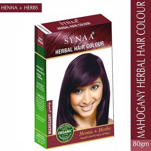 Synaa Herbal Hair Color Henna Herbs Mahogany Buy Synaa Herbal Hair Color Henna Herbs Mahogany Online At Best Price In India Nykaa
