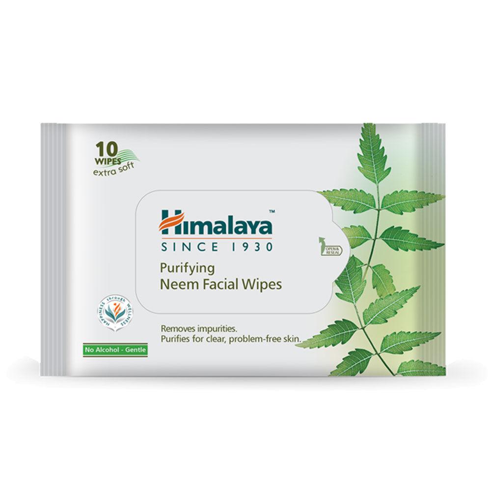 Himalaya Purifying Neem Facial Wipes at Nykaa com