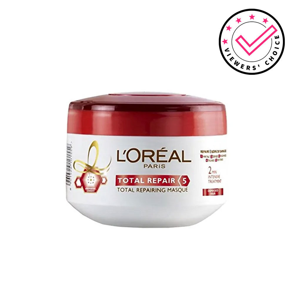 L Oreal Paris Total Repair 5 Masque Buy L Oreal Paris Total Repair 5 Masque Online At Best Price In India Nykaa
