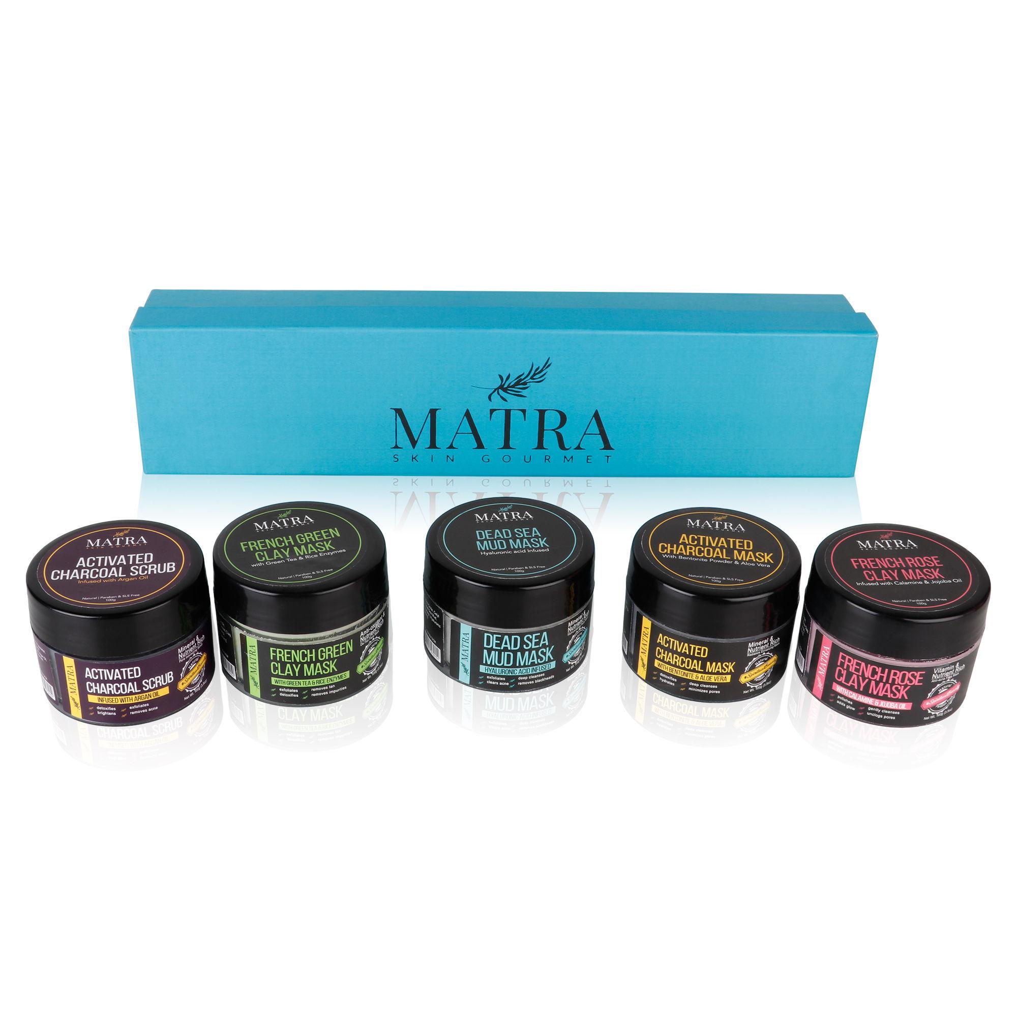 Matra Holistic Wellness Luxury Skincare Hamper Gift Set Buy Matra Holistic Wellness Luxury Skincare Hamper Gift Set Online At Best Price In India Nykaa
