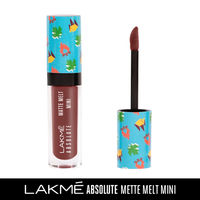 Lakme Absolute Matte Melt Mini Liquid Lip Color - Brown Souvenir