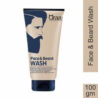 Qraa Men Face And Beard Wash