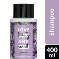 Love Beauty & Planet Argan Oil and Lavender Aroma Smooth and Serene Shampoo
