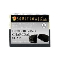 Soulflower Deodorizing Charcoal Soap