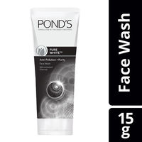 Ponds Pure White Anti Pollution + Purity with Activated Charcoal Face Wash