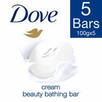 Dove Cream Beauty Bathing Soap (Buy 4 Get 1)