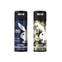 Playboy King & Wild Deodorant Pack of 2