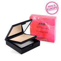 Nykaa SKINgenius Skin Perfecting & Hydrating Matte Powder Compact - Natural Ivory 01