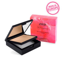 Nykaa SKINgenius Skin Perfecting & Hydrating Matte Powder Compact - Rose Beige 02