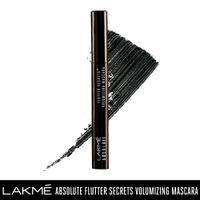 Lakme Absolute Flutter Secrets Volumizing Mascara - Black