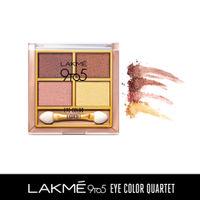 Lakme 9 to 5 Eye Color Quartet Eye Shadow - Desert Rose