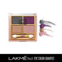 Lakme 9 to 5 Eye Color Quartet Eye Shadow - Silk Route