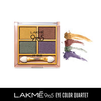 Lakme 9 to 5 Eye Color Quartet Eye Shadow - Tanjore Rush