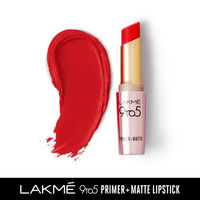 Lakme 9 to 5 Primer + Matte Lip Color