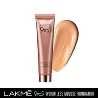 Lakme 9 to 5 Weightless Mousse Foundation - Beige Vanilla
