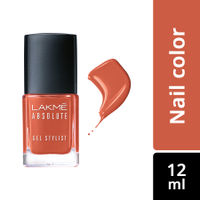 Lakme Absolute Gel Stylist Nail Color - Tawny Brown