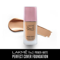 Lakme 9 To 5 Primer + Matte Perfect Cover Foundation