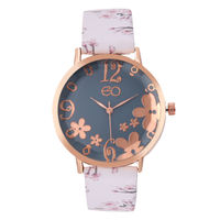 E2O Rose Gold & White Dial Analog Watch For Women
