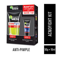 Garnier Men Acno Fight Anti-Pimple Kit (Save Rs. 40)