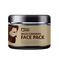 Qraa Men Haldi Chandan Face Pack