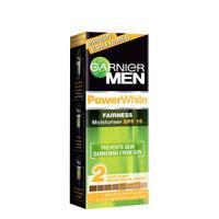Garnier Men PowerWhite Fairness Moisturiser SPF 15