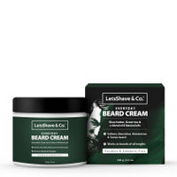 Letsshave Everyday Beard Cream for Men - 100gm