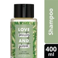 Love Beauty & Planet Tea Tree and Vetiver Aroma Radical Refresher Shampoo